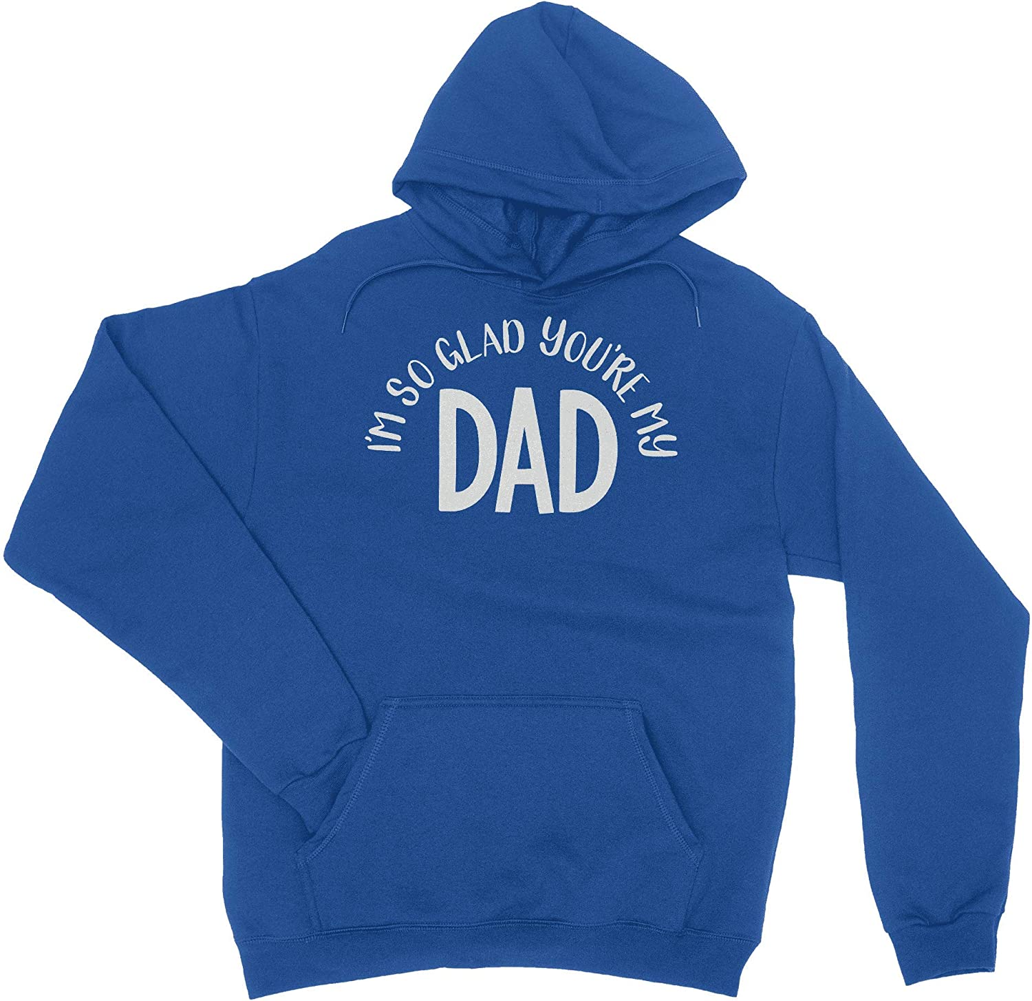 HARD EDGE DESIGN Boy's Max 65% OFF Youth I'm T-Shirt Dad Glad So You're latest My