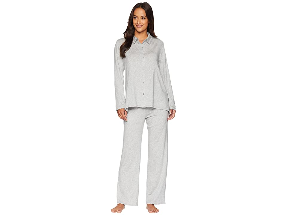 Donna Karan Pajama Set (Grey Heather) Women