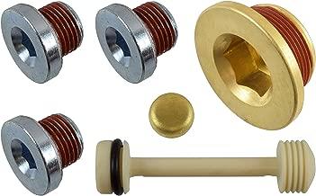 ICT Billet LS Engine Block Coolant & Oil Threaded Drain Plug LS1 LS2 LS3 L92 LQ4 LQ9 LSX Barbell 551280
