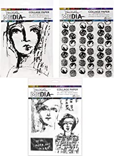Best dina wakley collage paper Reviews