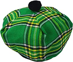 Scottish Tam O' Shanter Acrylic Wool Various Tartans Tammy Hat One Size