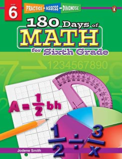 180 Days of Math Series for Sixth Grade