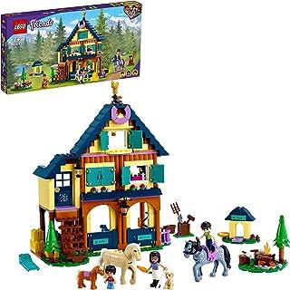 LEGO Friends 41683 Leśne centrum jeździeckie; fajny prezent na urodziny lub święta (511 elementów)