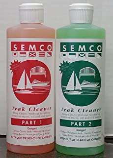 OnlineTeakFurniture Semco 2 Two Part Cleaner (Pint)