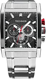 Relógio Technos Masculino Ts Carbon Prata - OS2AAF/S1P