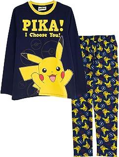 Pokemon Pikachu, yo te elijo Chicos Larga Pijamas Set | mercancía Oficial | Regalos de los Muchachos de Pokemon, los Chico...