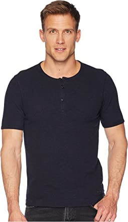 BOSS Orange Trixer Short Sleeve Henley Shirt