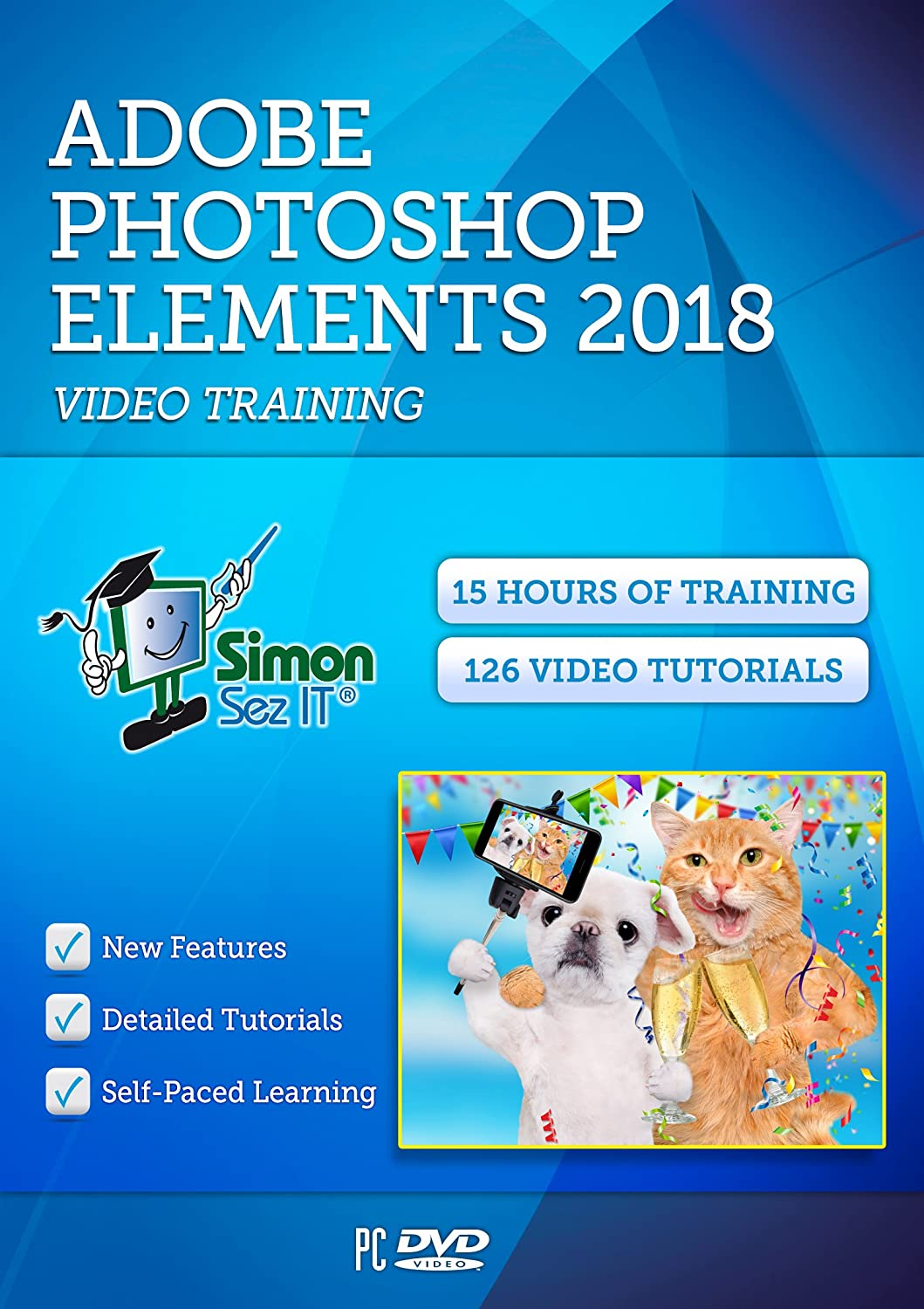 Photoshop Elements 2018 Self-Paced Super-cheap New arrival DVD Simon Training Course By