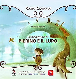 carillon lavabile con cordicella per copertina o peluche Pierino e il lupo S. Prokofiev Meccanismo musicale