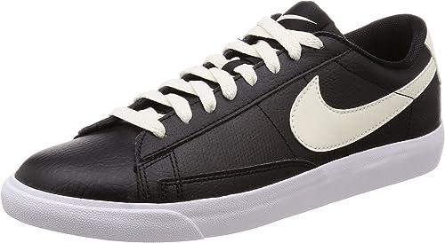 Nike Herren Blazer Low Leder Casual-Schuh, (schwarz Sail-Gum Medium braun), 42 EU M
