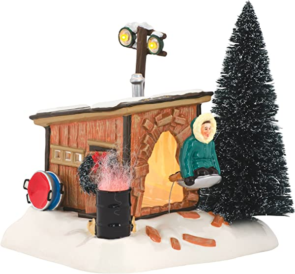Department 56 National Lampoon S Christmas Vacation Griswold Sled Shack Lit Building