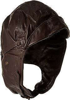 Flight Leather Hood Black