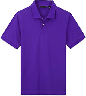 SYHBBD Polo Shirts for Men- Regular Fit Polos for Men Mens Polo Shirts
