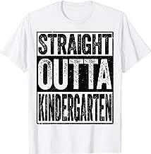 Straight Outta Kindergarten T-Shirt Funny Graduation Gift