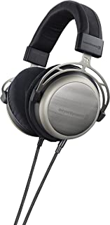 beyerdynamic T 1 2nd Generation Audiophile Stereo Headphones with Dynamic Semi-Open Design (Silver)