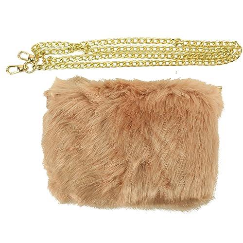 Winter Faux Fur Furry Crossbody Shoulder Handbag Evening Clutch Purse 190d8ef9a517e