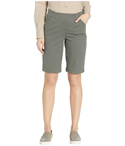 Jag Jeans Gracie Pull-On Bermuda Shorts Twill (Jungle Palm) Women