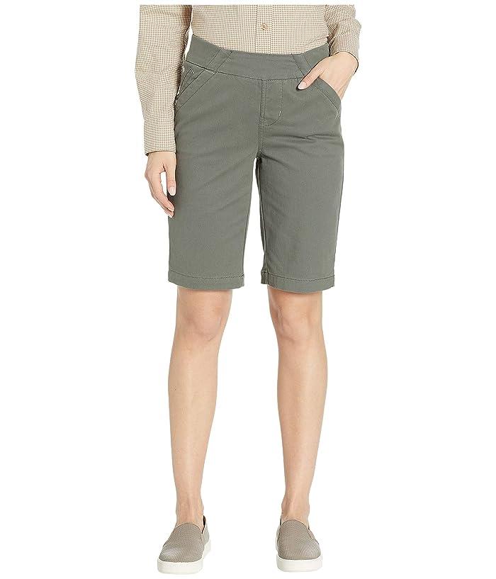 Jag Jeans Gracie Pull-On Bermuda Shorts Twill (Jungle Palm) Women's Shorts