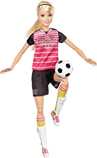 Barbie Made to Move Soccer Player DVF68_DVF69