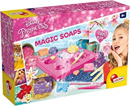 Lisciani 68036 Princess Do-It-Yourself Magic Soap Kit, Easy And Safe, Includes Princess Boxes To Gift Creations