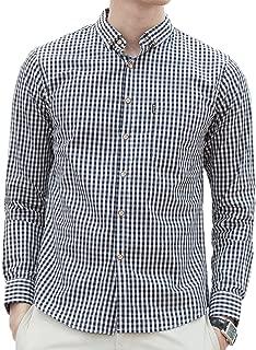 (コシャレ) kosyare ドレスシャツ チェックシャツ メンズ シャツ 長袖 アメカジ系 サロン系 キレカジ系