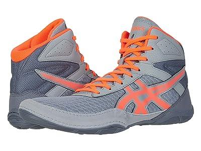 ASICS Matflex 6 (Stone Grey/Flash Coral) Men