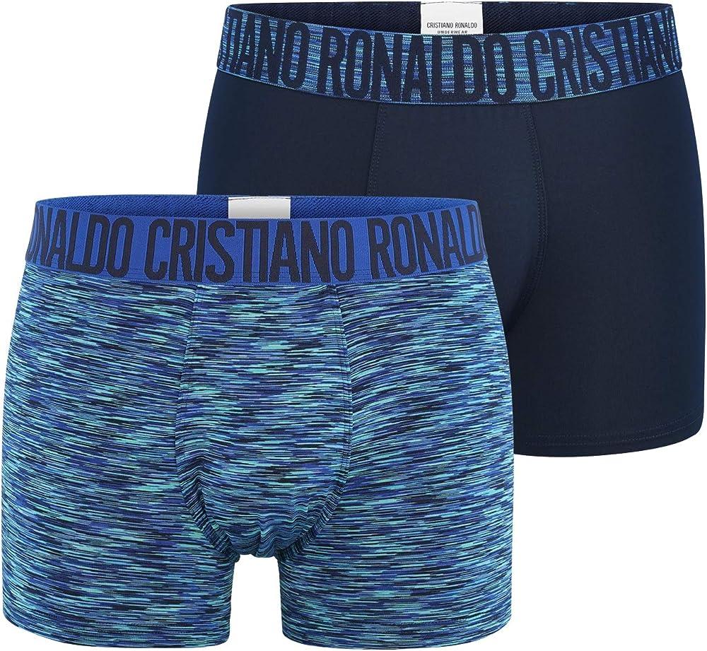 Cr7 cristiano ronaldo fashion, boxer in microfibra per  uomo,88% poliestere, 12% elastan,2 paia 6934_17605