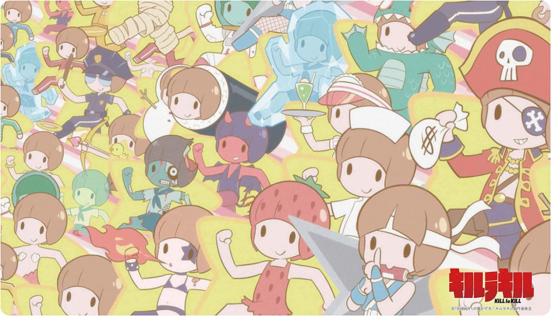 OFFer Kill la Ver.C Mako Mankanshoku Character Game P Ranking TOP8 Card Rubber