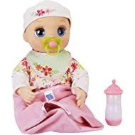 Baby Alive Real As Can Be Baby: Realistic Blonde Baby Doll, 80+ Lifelike Expressions, Movements &...