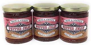 Trader Joe's Hot & Sweet Hot Pepper Jelly 11 oz (Case of 3)