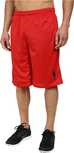 Mesh Athletic Shorts