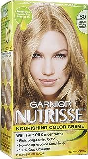 Garnier Nutrisse Haircolor - 80 Butternut (Medium Natural Blonde), Pack of 4
