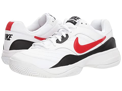 University Red Court Nike Lite 2 White Black ftHvq