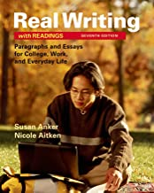 Best real writings with readings 7th edition Reviews