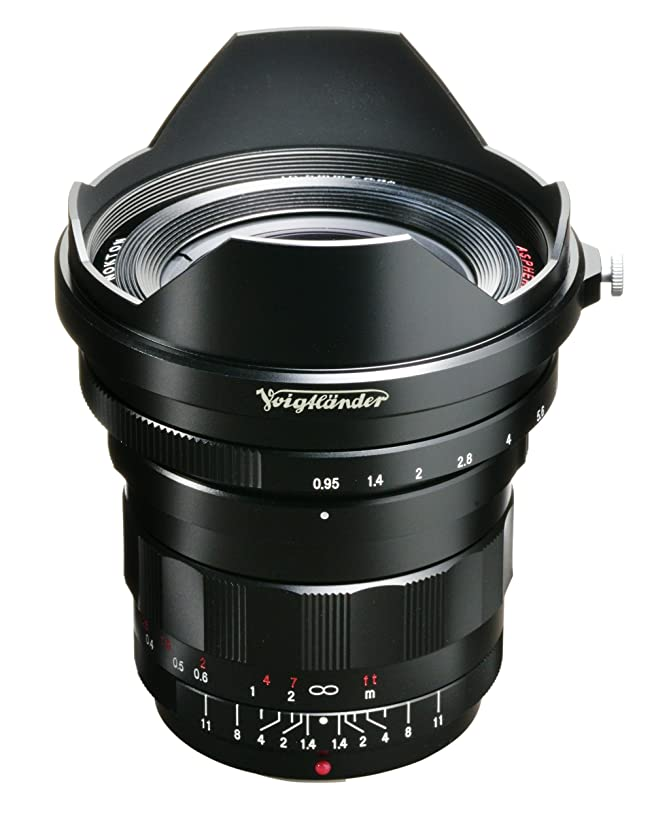 喉頭鋸歯状ストロークVoightLander 単焦点レンズ NOKTON 10.5mm F0.95 Micro Four Thirds マイクロフォーサーズ対応 232051