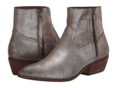 FRYE AND CO. Rubie Zip (Pewter Metallic Suede) Women