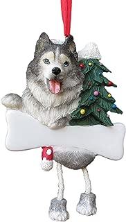 Siberian Husky Ornament with Unique