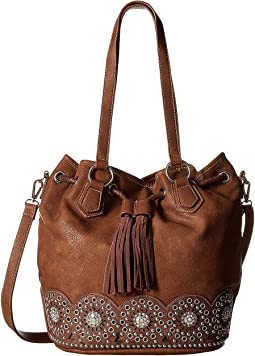 M&F Western Rhianna Bucket Bag