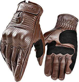 classic leather motorcycle gloves
