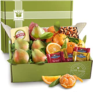 Harvest Favorites Fruit and Gourmet Holiday Gift Box