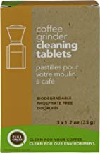 Urnex Full Circle Coffee Grinder Cleaning Tablets - 3 Single Use Packets - Coffee Grinder Cleaner Removes Coffee Residue and Oils
