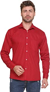 Super weston Cotton Dotted Shirts for Men Use,100% Pure Cotton Shirts,Normal Wear Shirts, M=38,L=40,XL=42