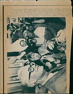 Vintage photo of Douglas Hurd with Mr. Tom King