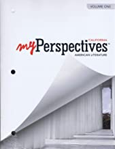 My Perspective California American Literature Grade 11 Volume 1
