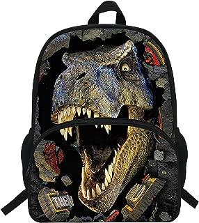 16-Inch Cool Animals School Backpack For Teen Girls Boys Dinosaur Bag For School (D946)