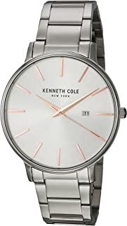Kenneth Cole Casual Watch For Men Analog Leather - KC15059001