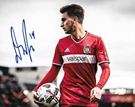Djordje Mihailovic signed Chicago Fire MLS Soccer 8x10 photo autographed - Autographed Soccer Photos