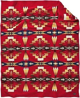 Pendleton Woolen Mills Blanket Robe, Tucson Scarlet, One Size