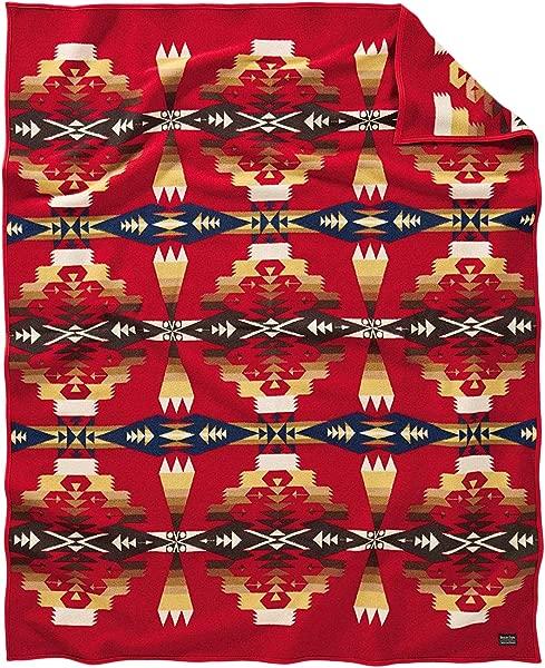 Pendleton Woolen Mills Blanket Robe Tucson Scarlet One Size