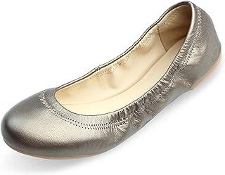 کفش چرم زنانه Xielong باله تخت پیراهن زنانه گاه به گاه کفش چرم